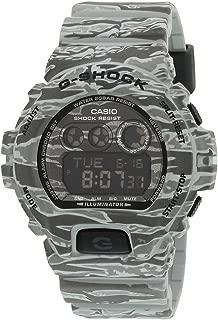 Casio Mens Digital Watch, Digital Display and Resin Strap GD-X6900CM-8