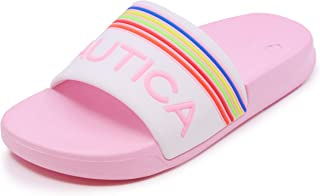 Nautica Kids Youth Athletic Slide Slip-On Sandal - Big Kid/Little Kid |Boys - Girls|