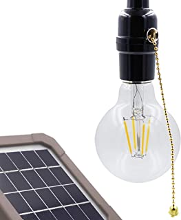 Eddie Classic Light Bulb para garaje y trastero, cable de 26 pies (8 m), cadena de tiro de encendido/apagado, se puede usar durante el día