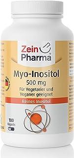 Myo-Inositol - 500 mg pro 1 Cápsula - 180 Cápsulas - para Vegetarianos y Vegetariano apto -