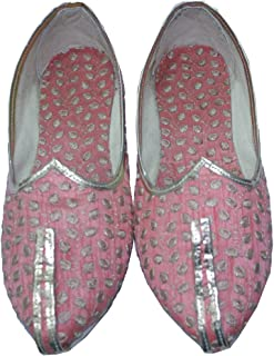 Mojari for Indian Mens Tradition Ethnic Jutti and Sherwani Matching Shoes for Wedding