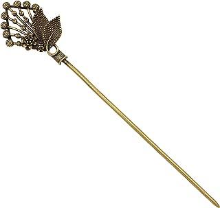 brass hair stick