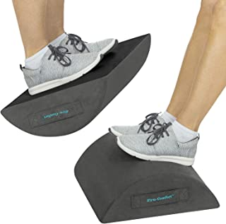Xtra-Comfort Foot Rest Under Desk - Premium Memory Foam Footrest for Computer and Office Chair - Stool Rocker Firm Footstool Cushion for Home and Work - Non-Slip Support Stool for Legs, Feet and Back