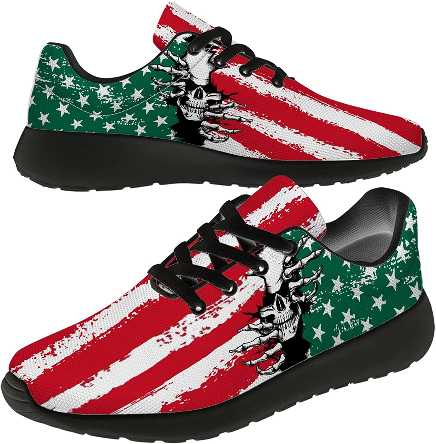 Uminder Mexico Flag Shoes for Men Outlet ☆ Free Shipping Women Fashion L Ultra Manufacturer OFFicial shop Sneakers