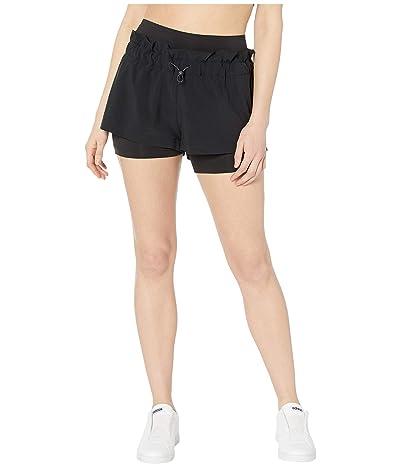 adidas by Stella McCartney Hiit Two-Piece Detail Shorts FS7583 (Black) Women