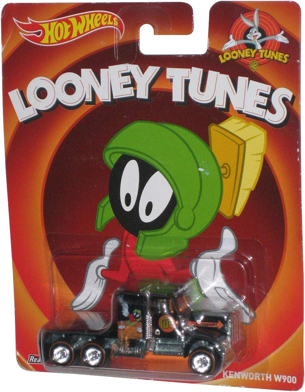 Nuevos productos de artículos novedosos. Hot Hot Hot Wheels Looney Tunes Marvin the Martian Kenworth W900  precios mas baratos