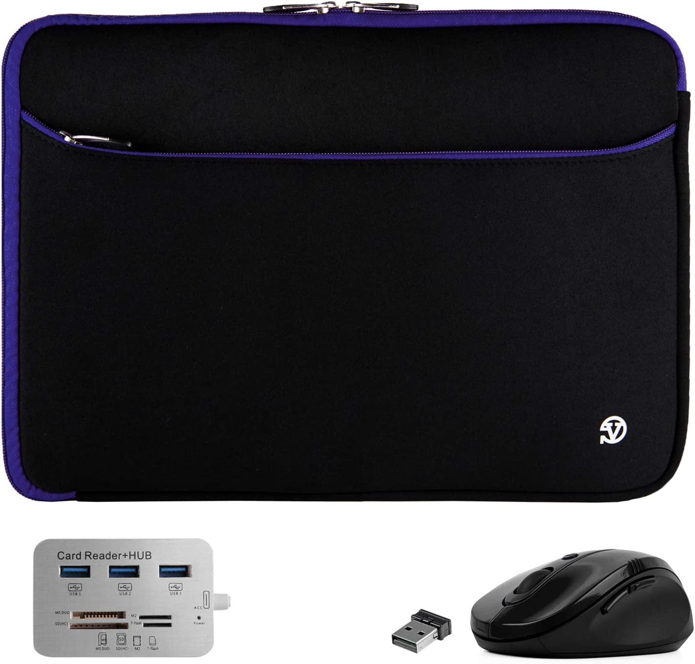 Protective Superior Padded Black Blue Shock Slee Laptop 13-inch Attention brand Absorbing