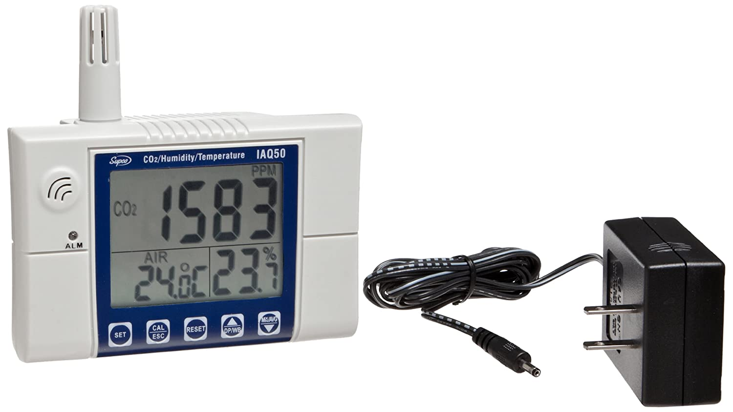 Supco IAQ50 Free Shipping Cheap Max 55% OFF Bargain Gift CO2 Carbon Dioxide Air Meter Indoor Monitor Quality