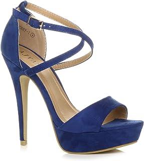 6667229988 Amazon.it: Blu - Scarpe col tacco / Scarpe da donna: Scarpe e borse