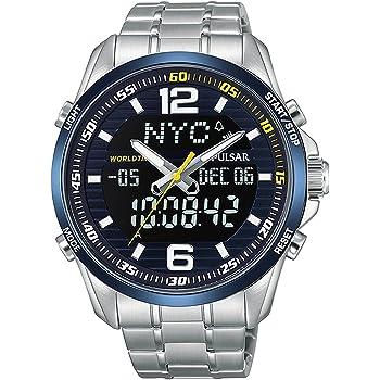 [セイコー パルサー] SEIKO PULSAR 腕時計 WRC RALLY ラリー クロノグラフ アナデジ メンズ PZ4003X1 [並行輸入品]
