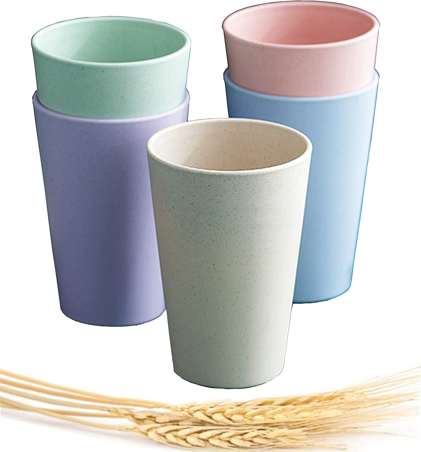Choary Max 55% OFF Wheat Now on sale Straw Cup drinkin Eco-friendly Reusable Unbreakable