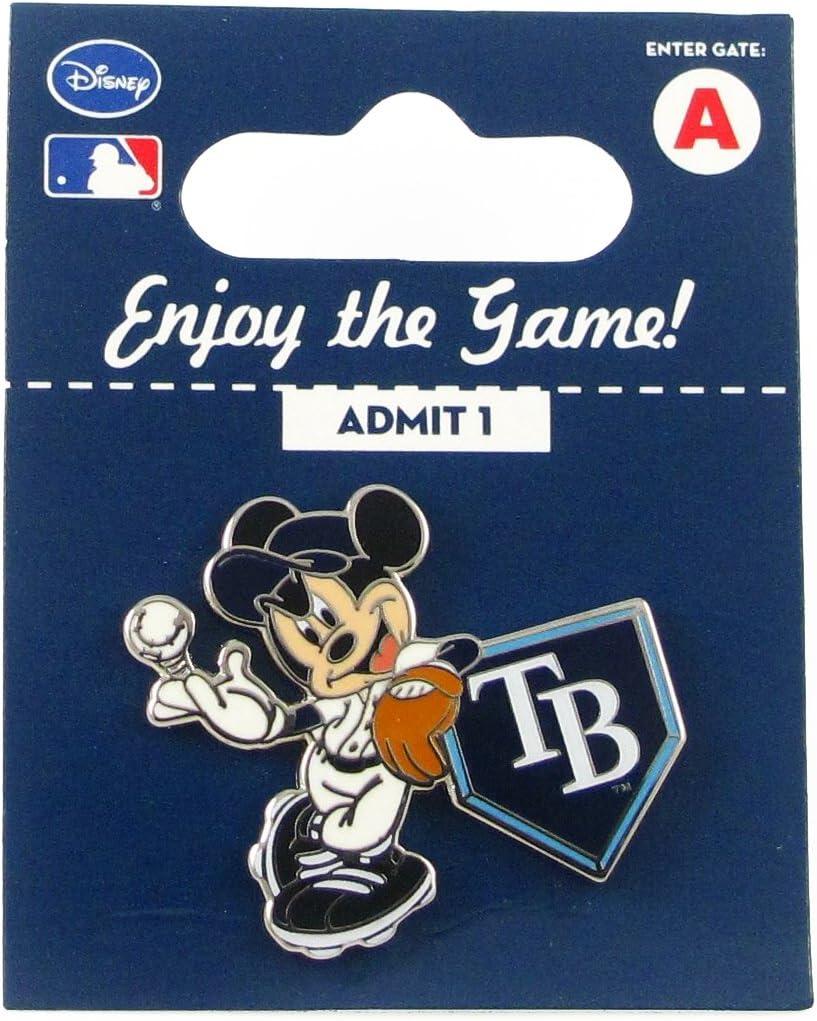 aminco Ranking TOP8 MLB Tampa Bay Rays Disney Pin Home Ba Mickey Ranking TOP17 - Leaning on