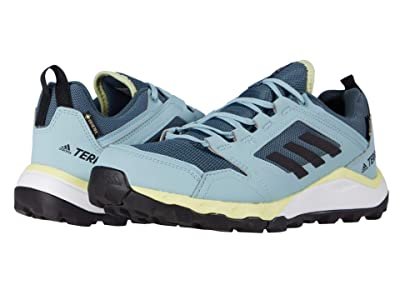 adidas Outdoor Terrex Agravic TR GTX (Legacy Blue/Black/Yellow Tint) Women