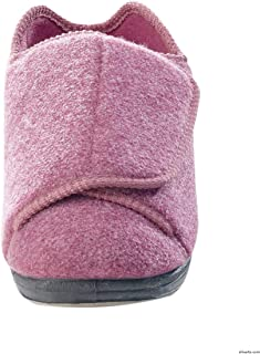 extra wide women's slippers