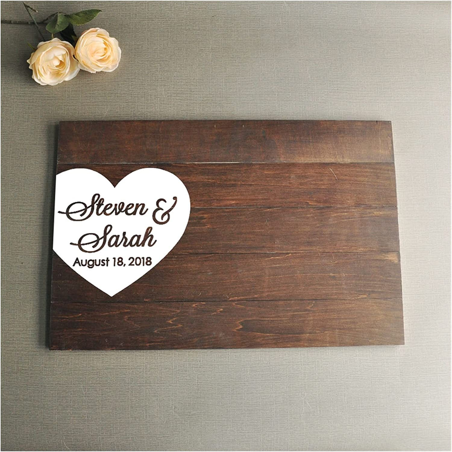 HUMINGG Wedding Guest Book Sign Guestbook Max 52% OFF Max 71% OFF Alte