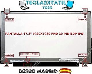 TECLA2XTATIL TC2X Pantalla para PORTATIL MSI GP72 7RD-012CZ 17,3