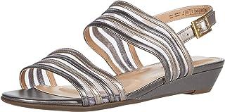 Rockport Women's Slide Flat Sandal, Black