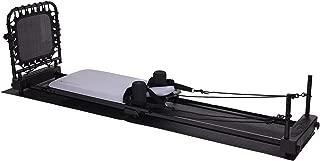 Stamina AeroPilates 4 Cord Reformer Plus 4420 Fitness Workout Machine with Mat