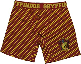 Harry Potter Gryffindor House Boxer Briefs with Striped Print