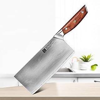 Couteaux d'acier inoxydable Couteaux en acier inoxydable Full Tang Chef Couteau de viande Poisson Couteau Cuisine Couteau ...