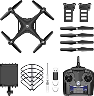 Holy Stone HS110D FPV RC Drone with 1080P HD Camera Live Video 120°Wide-Angle WiFi Quadcopter with Gesture Control, Altitu...