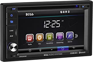 BOSS Audio Systems BV9362BI Car DVD Player - Double Din, Bluetooth Audio and Calling, 6.2 Inch LCD Touchscreen Monitor, MP3 Player, CD, DVD, WMA, USB, SD, Auxiliary Input, AM FM Radio Receiver