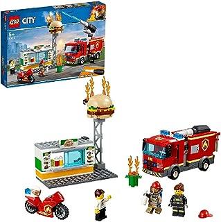 レゴ(LEGO) シティ ハンバーガーショップの火事 60214 ブロック おもちゃ 男の子 車