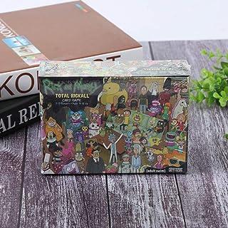 WANLN Rick y Morty Cooperativa Tarjeta de Juego, Basada en La Exitosa Serie de Adult Swim Rick & Morty, con El Tema Clásico Monopoly Juego,Rick and Morty: Amazon.es: Hogar