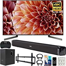 $998 » Sony XBR55X900F 55-Inch 4K Ultra HD Smart LED TV Bundle with Deco Gear 60W Soundbar, Wall Mount Kit, 2.4GHz Backlit Keyboard, 6-Outlet Surge Adapter and Screen Cleaner for LED TVs
