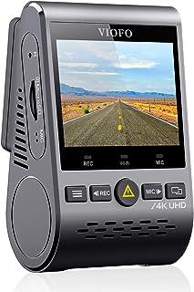 VIOFO 4K Autokamera Dashcam A129 Pro 3840 * 2160P Ultra HD 4K Dashkamera 8MP Sensor GPS Wi Fi, Gepufferter Parkmodus, G Sensor, Bewegungserkennung, WDR, Schleifenaufnahme