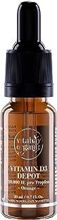 Depósito de Vitamina D3 Líquido de 10,000 UI - Gotas veganas - Una porción / 10