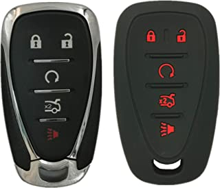 $25 » KAWIHEN Keyless Entry Remote Key Fob Shell Cover Replacement for 2016-2020 Chevrolet Chevy Malibu Cruze Camaro Volt Blazer...