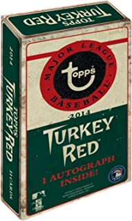2014 Topps Turkey Red Baseball Factory Sealed Box with 1 Autograph Card