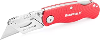 Sheffield Ultimate Lock Back Utility Knife - Red