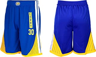 Steph Curry Blue Kids Basketball Jersey Shorts Set Youth Sizes Premium Quality Gift Set