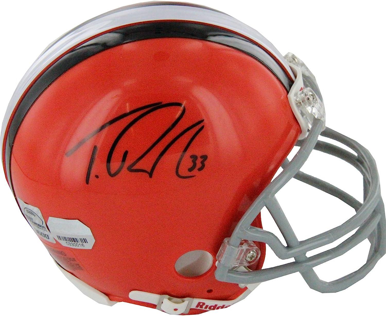 NFL Cleveland Browns Trent Richardson Autographed Mini Helmet
