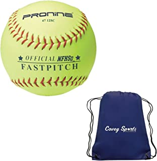 ProNine 垒球 12 英寸 Fastpitch 高中球(多件装)Covey 运动包