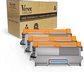 v4ink Compatible Toner Cartridge Replacement for Brother TN450 TN420 Black Toner Cartridge High Yield Use for HL-2240d HL-2270dw HL-2280dw MFC-7360n MFC-7860dw IntelliFax 2840 2940 Printer 3 Pack