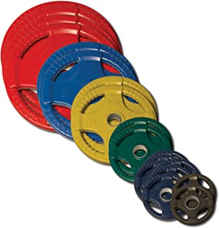 Body-Solid Color Olympic Quad Rubber Grip Weight Plate Sets