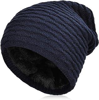 VBIGER Beanie Cappello in Maglia Cappelli Invernali Berretti in maglia Cappello Invernale Beanie Unisex Caldo Cappello per...
