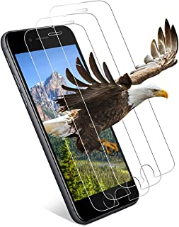 iPhone 8 ガラスフィルム iPhone 7 用 強化ガラス 液晶保護フィルム 3DTouch対応 高鮮明 高感度 指紋防止 気泡防止 耐衝撃 0.3mm 超薄型 簡単貼付 【3枚セット 】保護フィルム iphone 8 / iPhone 7 フィルム