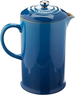 Le Creuset Stoneware 27-Ounce French Press, Marseille