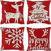 Amazon.co.uk: Christmas Pillow Cover