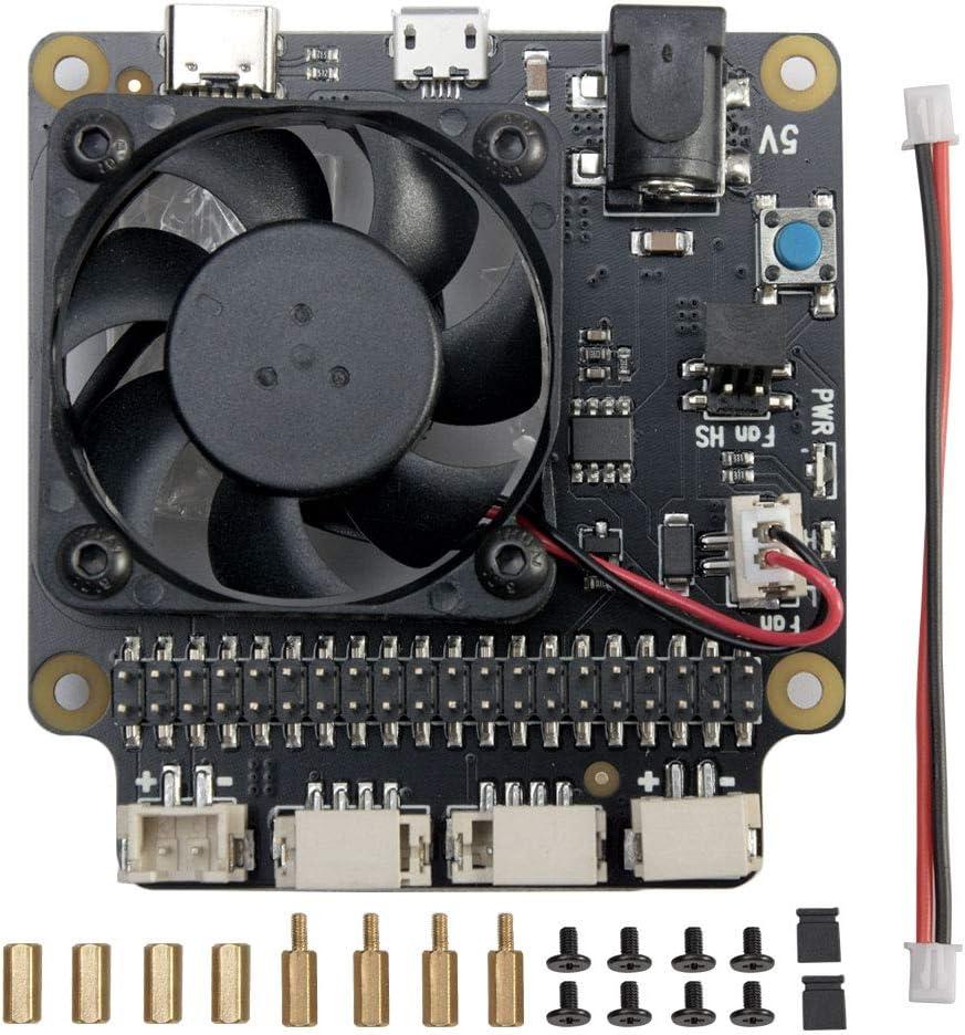 For Raspberry Pi 4B 3B+ 3B Safe with New mail order V2.0 Management Superlatite Power X735