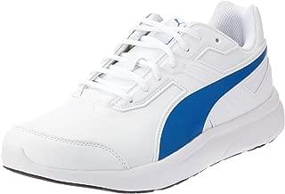 PUMA Men's Escaper Sl, White-Lapis Blue, Running Shoes