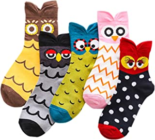 MEOKEY, Calcetines cortos - Animal Print - para mujer