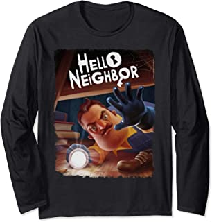 Hello Neighbor Poster Long Sleeve T-Shirt