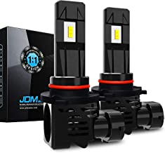 JDM ASTAR 12000 Lumens Extremely Bright 1:1 Design 9005 All-in-One LED Headlight Bulbs/Fog Lights/DRL, Xenon White
