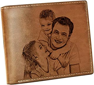 Personalized photo Wallet Custom Men's Wallet Boyfriend Gift Husband Gift Valentine's Day Anniversary Gift fathers day gift