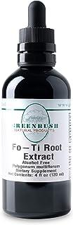 Greenbush Fo-Ti Liquid Extract, He Shou Wu Supplement (4 Ounces)
